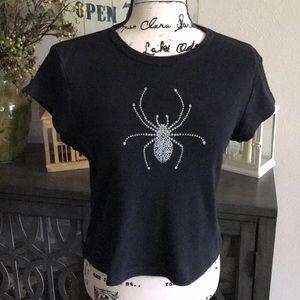 Target Halloween spider top